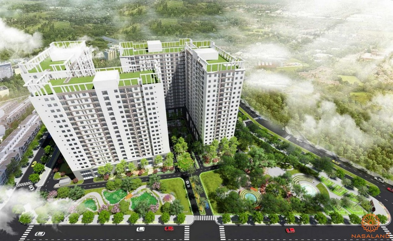 Phối cảnh tổng thể dự án căn hộ Tara Residence