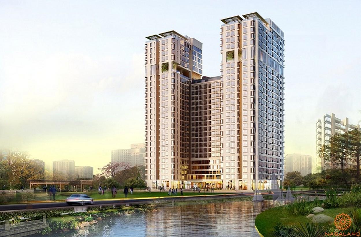 Phối cảnh tổng thể dự án căn hộ The Golden Star quận 7