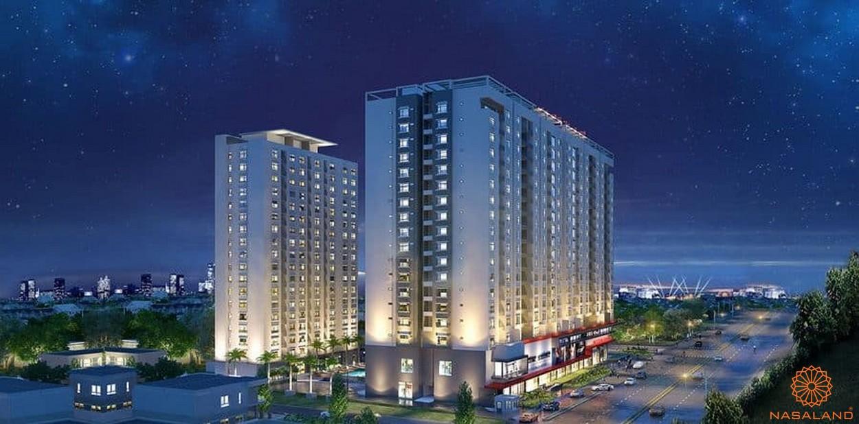 Phối cảnh tổng thể dự án căn hộ Universe Complex Bình Tân