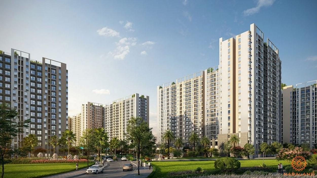 Phối cảnh dự án căn hộ West Gate Bình Chánh