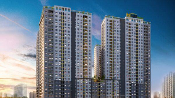 Phối cảnh dự án căn hộ chung cư Bcons Garden Bình Dương