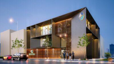 Phối cảnh dự án căn hộ C River View Bình Dương