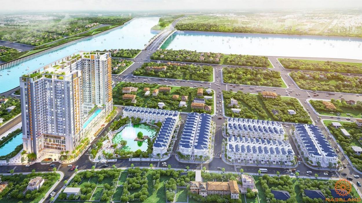 Phối cảnh tổng thể dự án căn hộ Green Stay Sky Garden