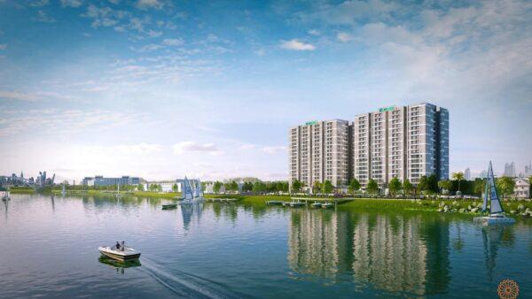 Phối cảnh dự án căn hộ Jamona Eco