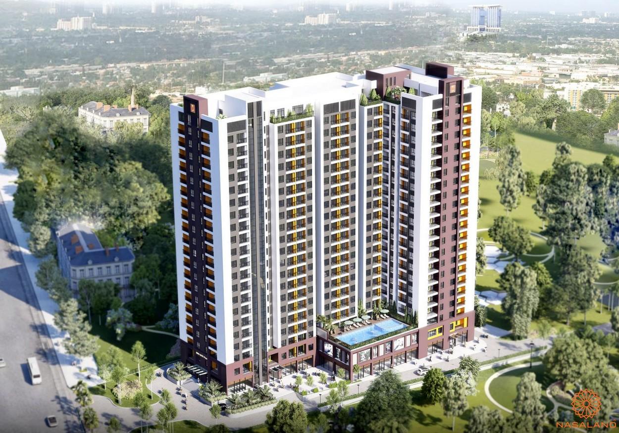 Phối cảnh dự án căn hộ Minh Quốc Plaza Bình Dương
