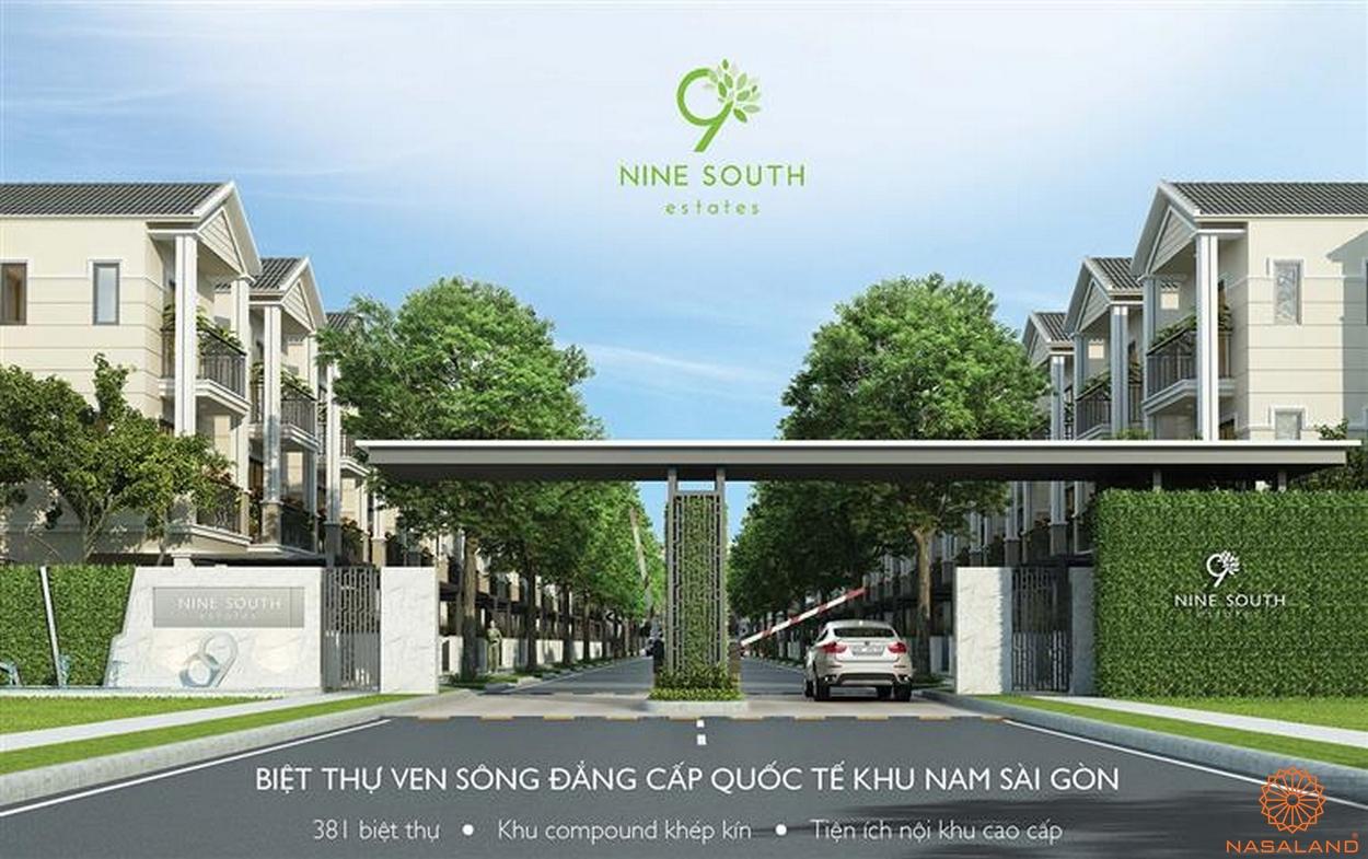 biệt thự ven sông Nine South Estates Nhà Bè