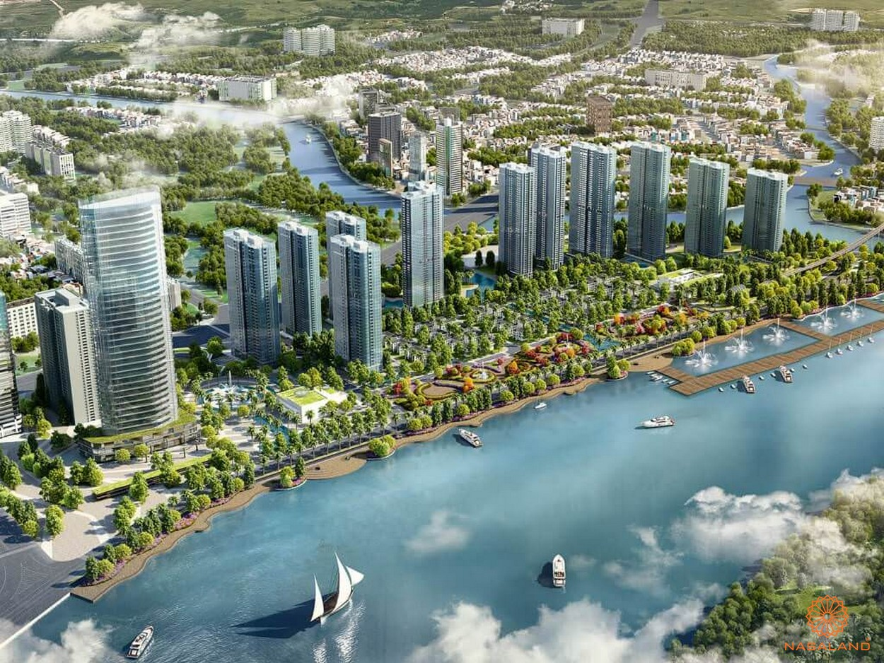 Phối cảnh dự án căn hộ One Alpha Riverside quận 1