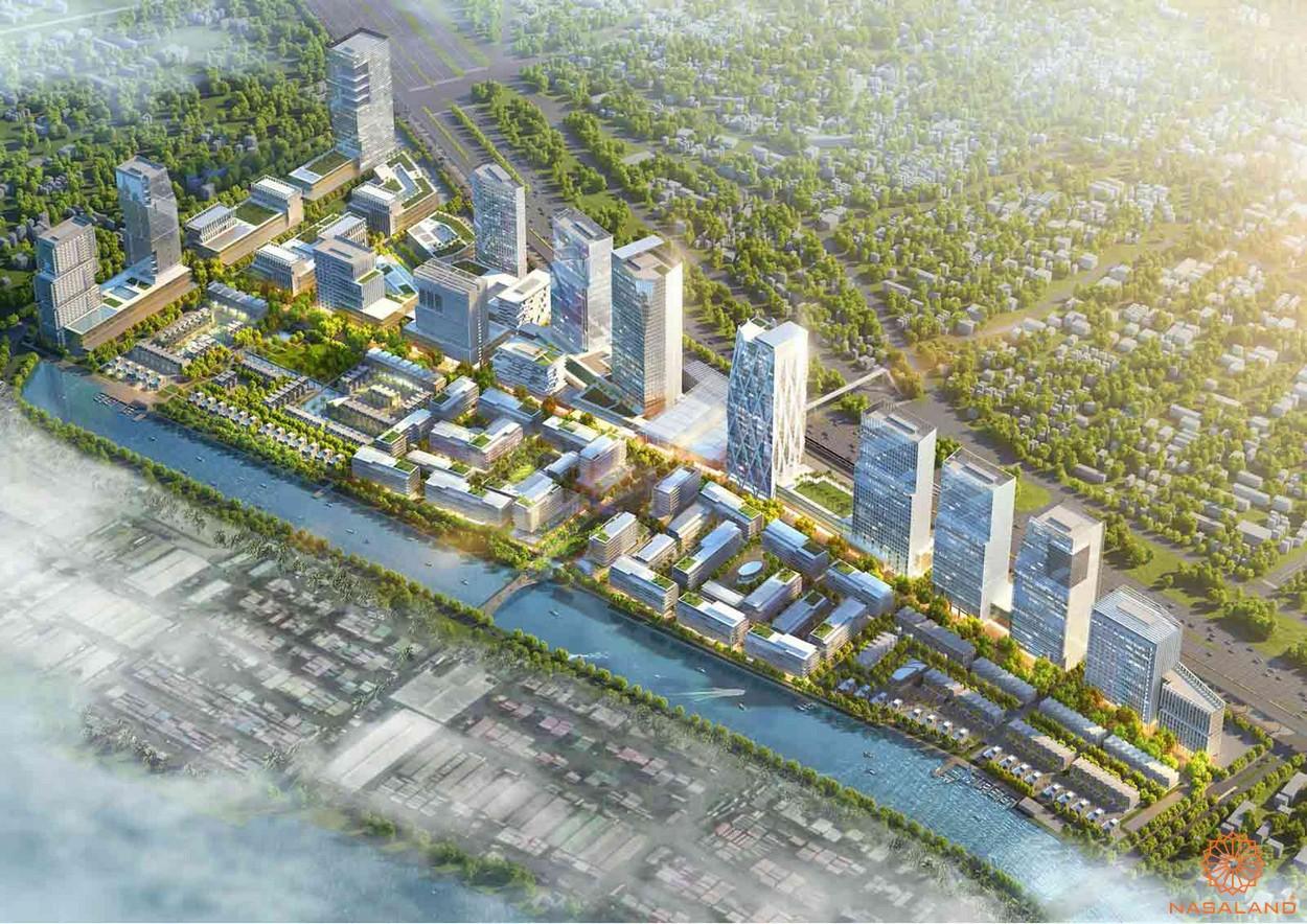 Tổng thể dự án căn hộ River City