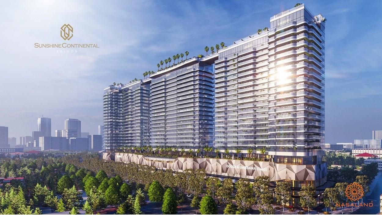 Phối cảnh dự án căn hộ Sunshine Continental quận 10
