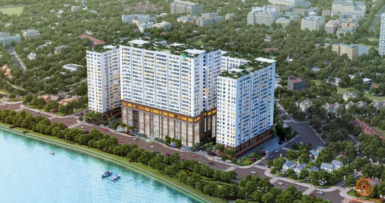 Phối cảnh tổng thể dự án căn hộ Green River