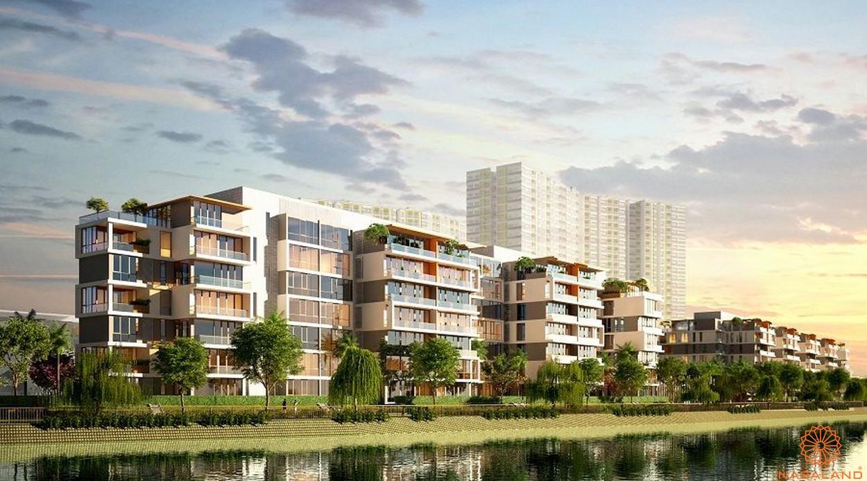 Phối cảnh tổng thể dự án căn hộ Jamona City quận 7