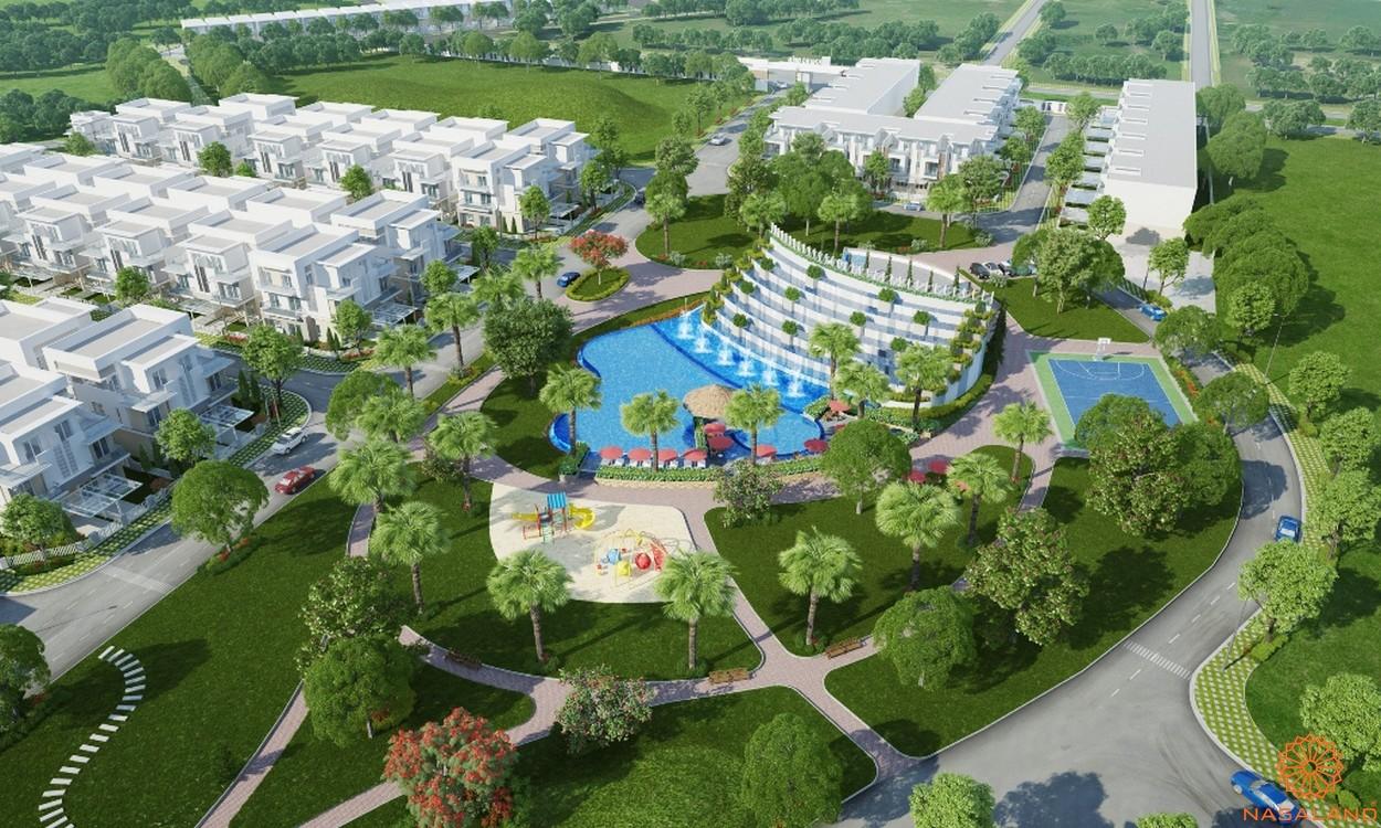 Phối cảnh tổng thể dự án Melosa Garden quận 9
