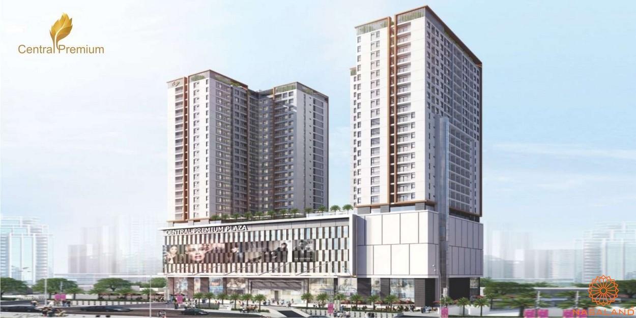 Phối cảnh dự án căn hộ chung cư Central Premium