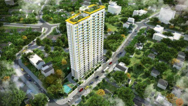 Phối cảnh tổng thể dự án căn hộ Bcons Bee