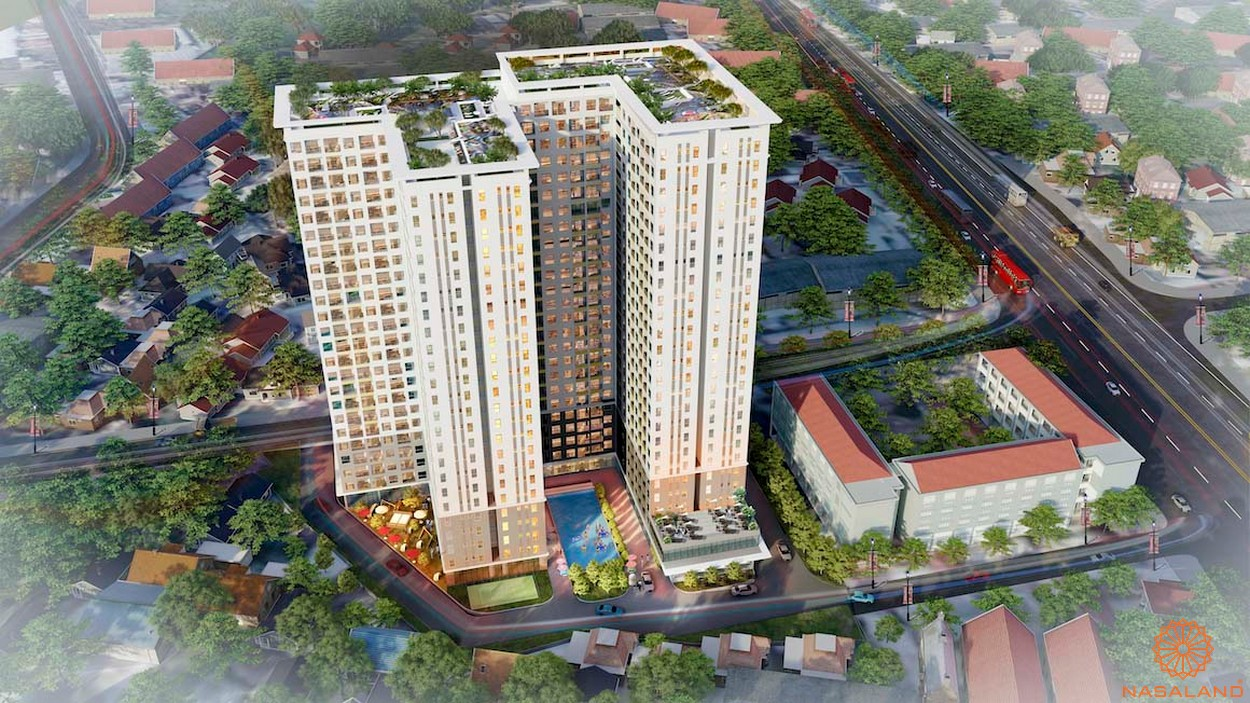 Phối cảnh tổng thể dự án căn hộ Bcons Green View