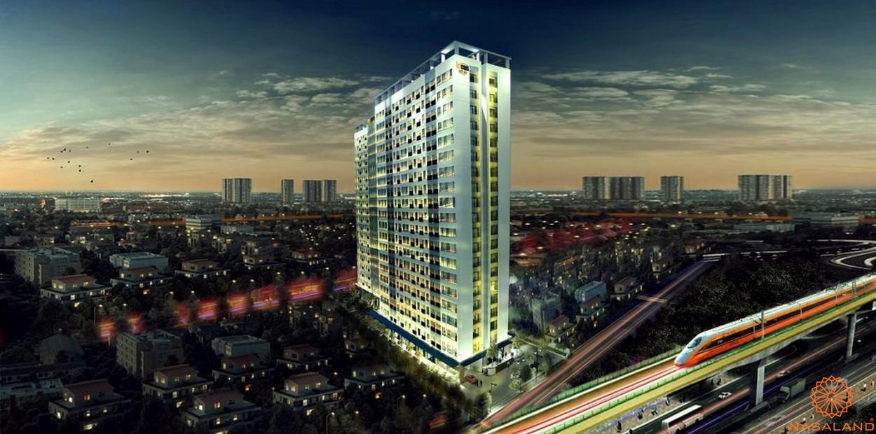Phối cảnh tổng thể dự án căn hộ Bcons Suối Tiên