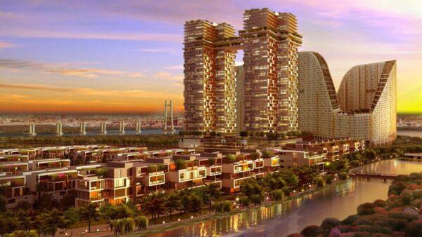 Phối cảnh dự án căn hộ Jamona City quận 7