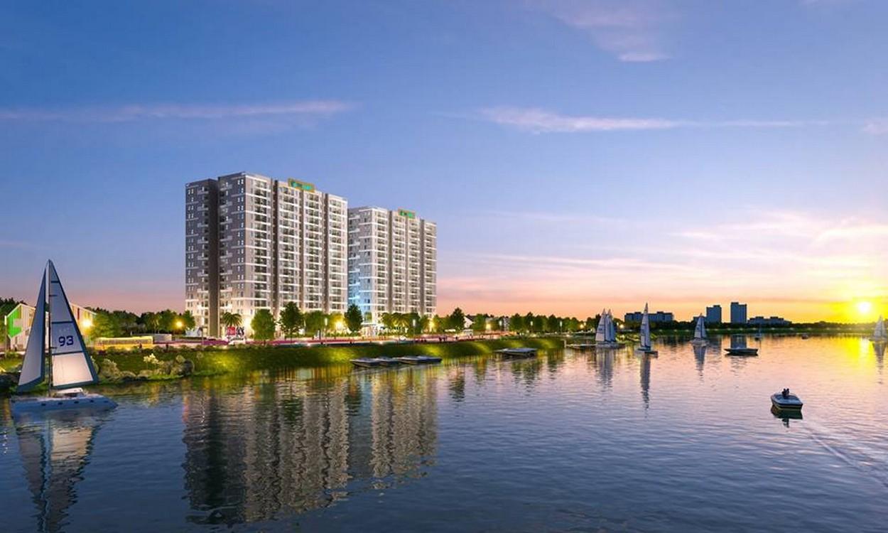 Phối cảnh tổng thể dự án căn hộ Jamona Eco quận 8