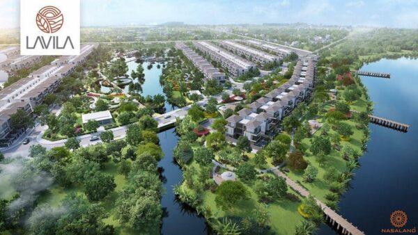 Phối cảnh tổng thể dự án căn hộ Lavila Nhà Bè
