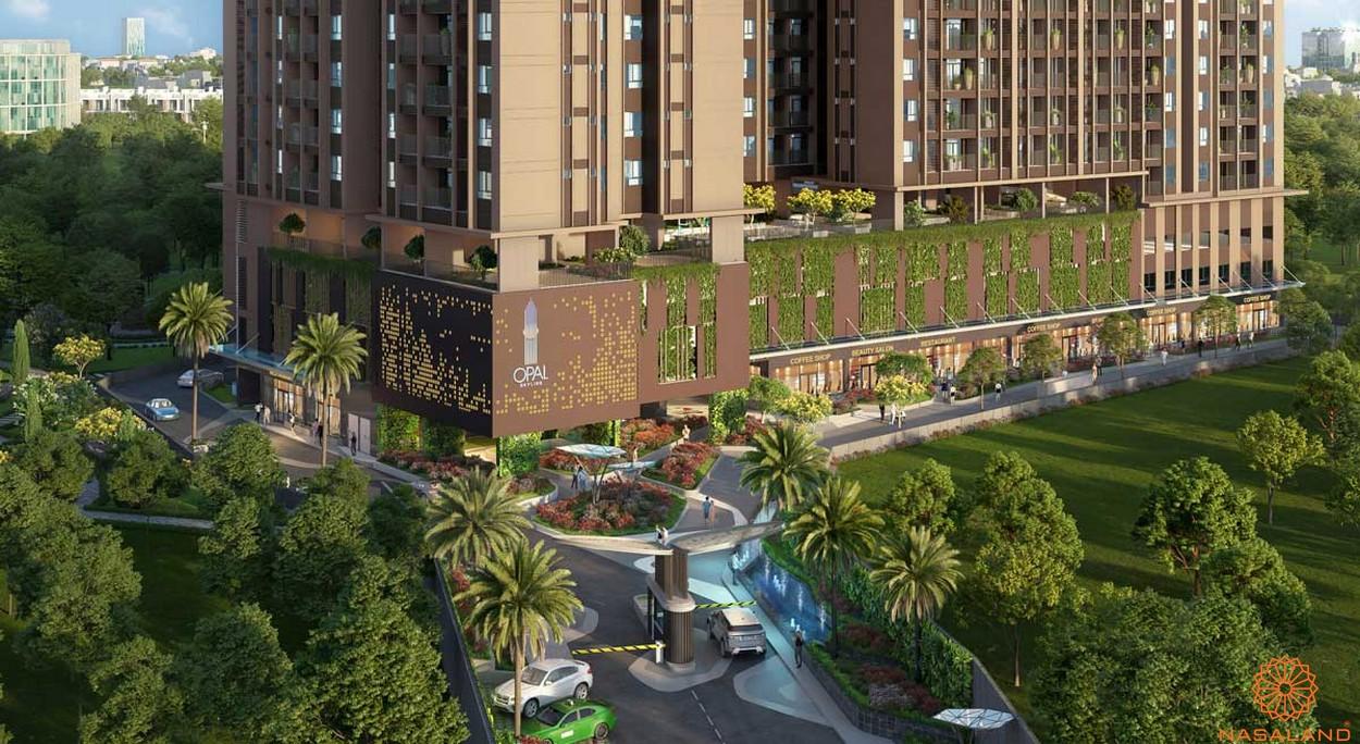 Phối cảnh tổng thể dự án căn hộ Opal Skyline