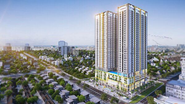 Phối cảnh căn hộ Phú Đông Sky Garden Bình Dương