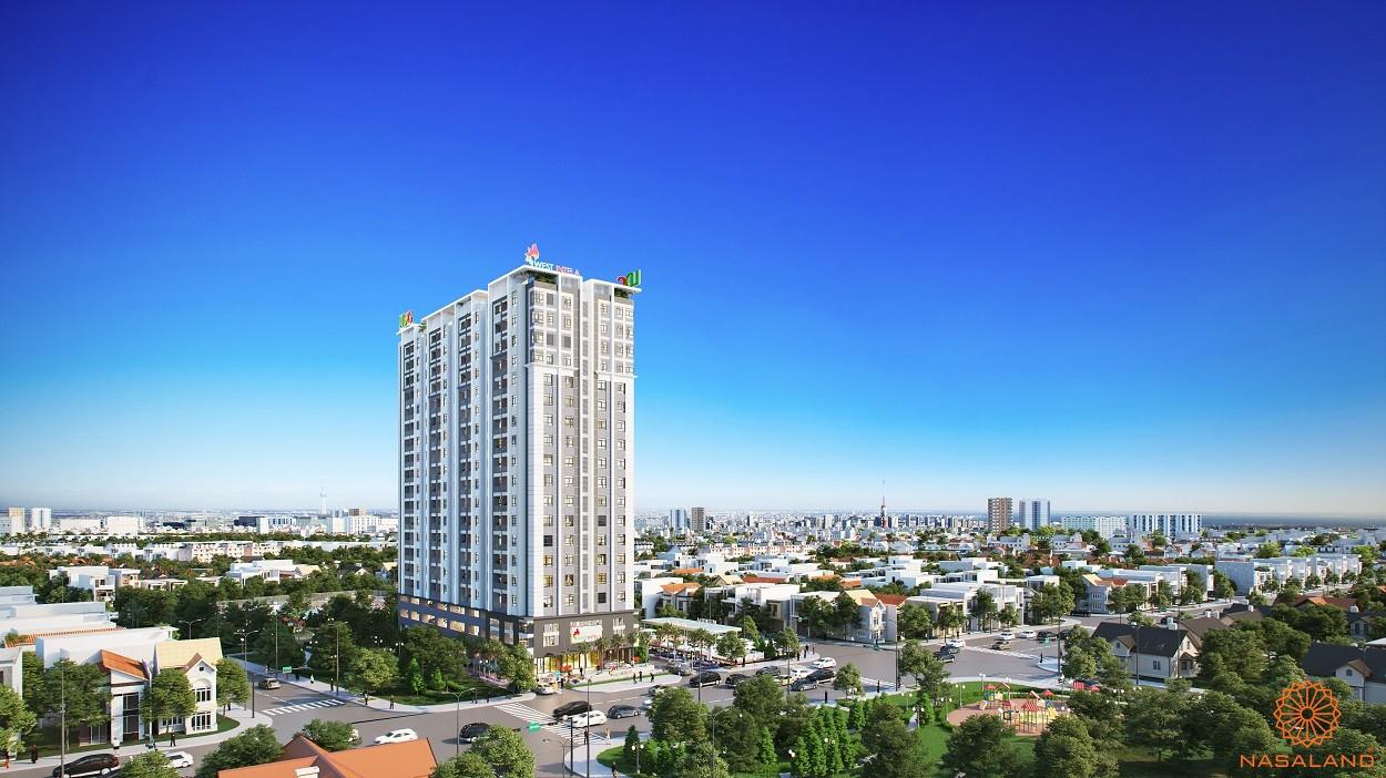 Phối cảnh tổng thể căn hộ West Intela