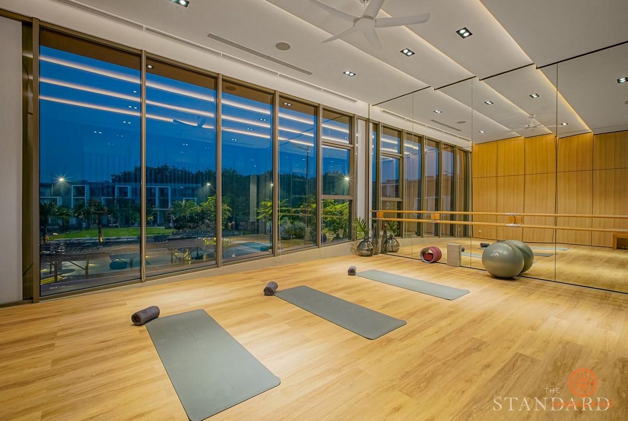 Phòng Yoga tại dự ấn