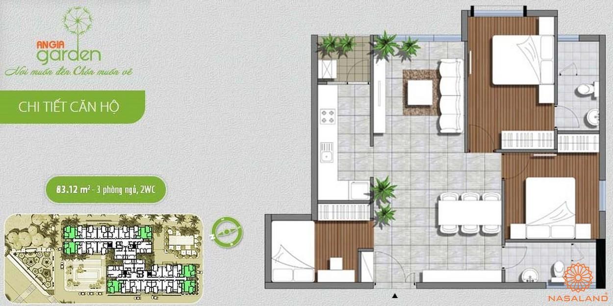 Thiết kế dự án căn hộ An Gia Garden Quận Tân Phú