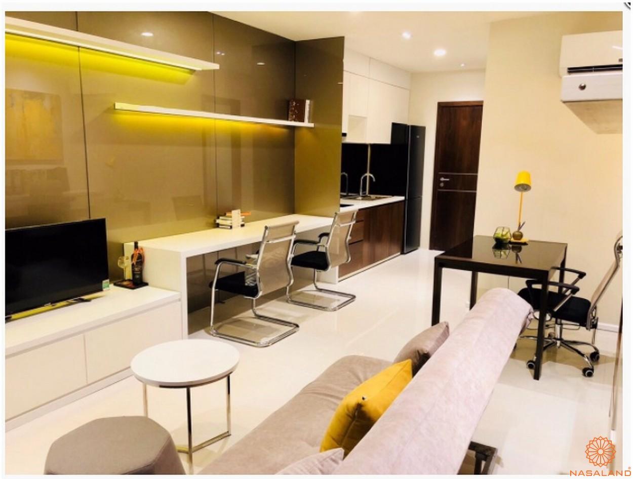 Thiết kế căn hộ chung cư Central Premium phòng khách