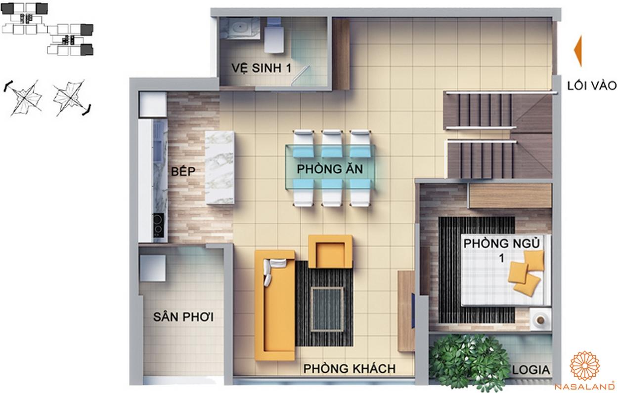 dragon hill thiết kế căn hộ 4 phòng ngủ