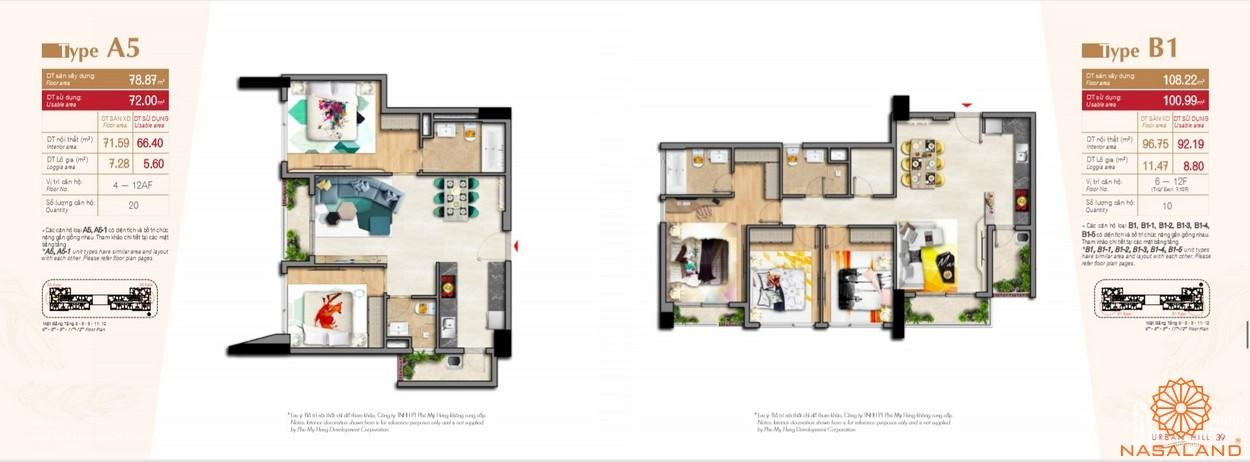 Thiết kế căn hộ tại dự án Hưng Lộc Phát Complex