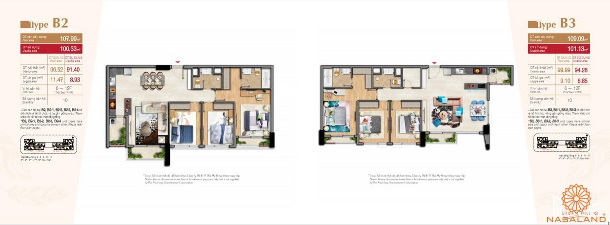 Thiết kế căn hộ tại dự án Hưng Lộc Phát Complex Bình Chánh