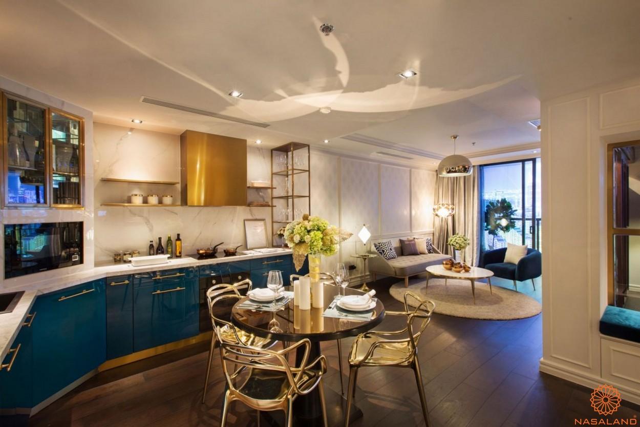 Thiết kế phòng khách căn hộ Icon Plaza Bình Dương