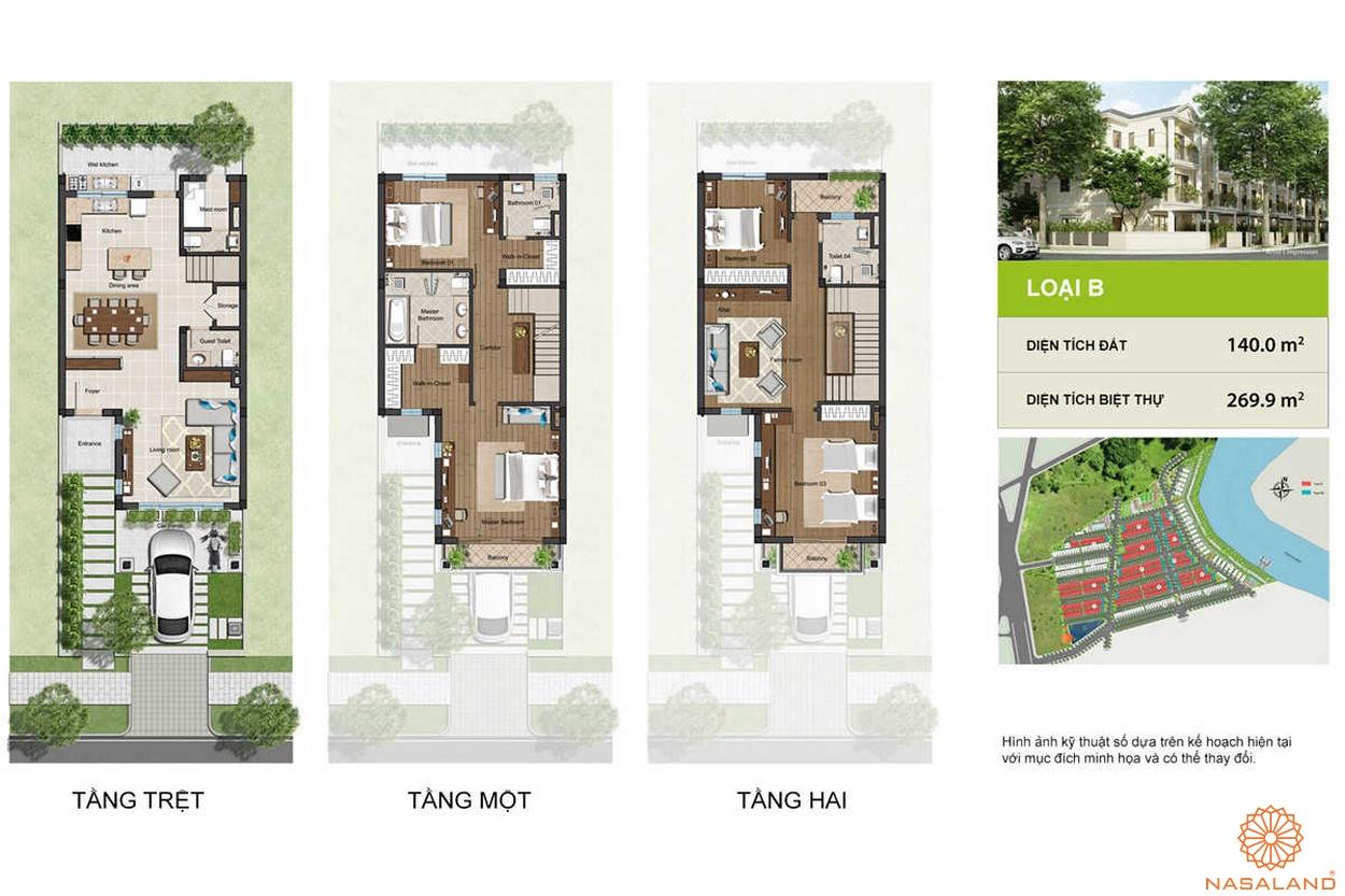 Thiết kế Nine South Estates
