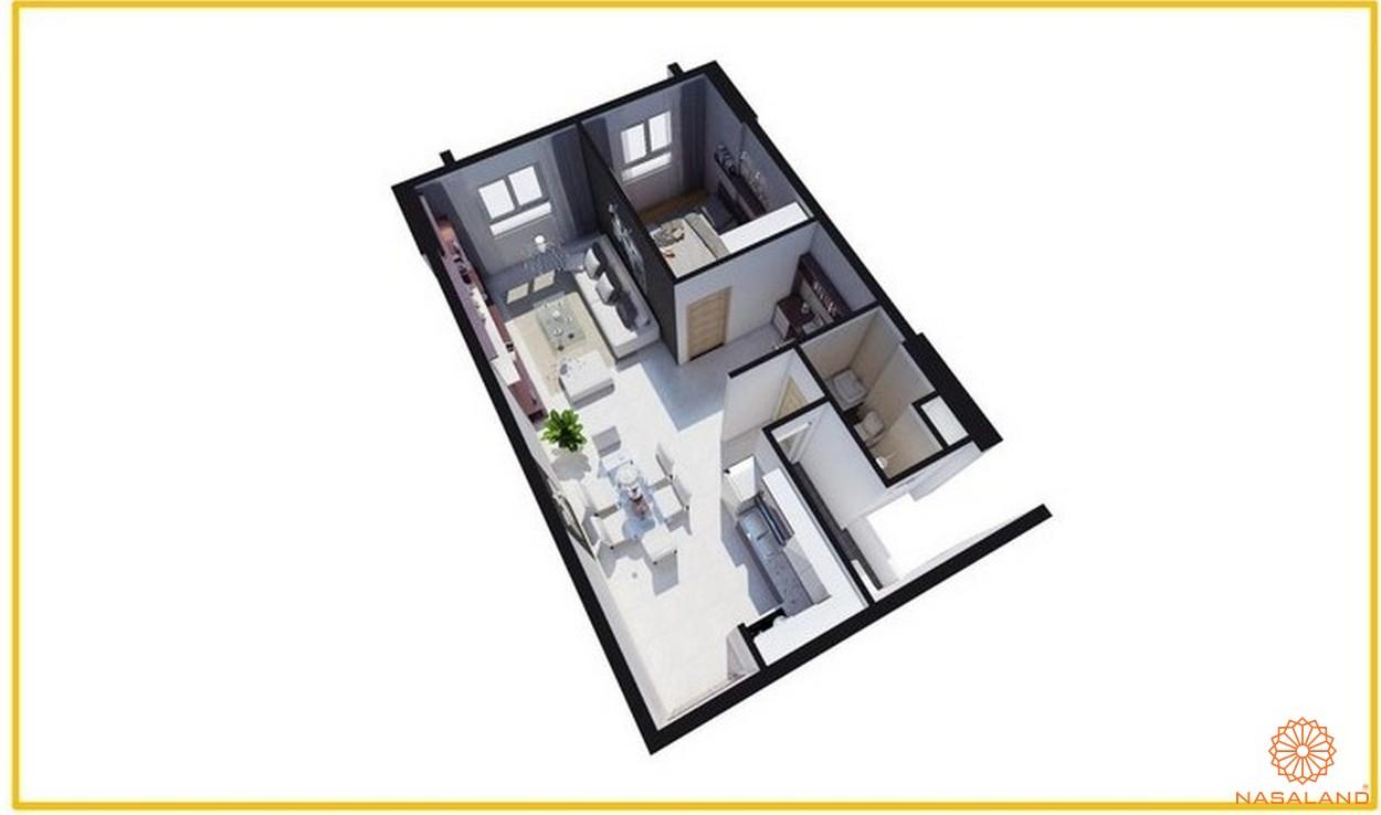 Thiết kết căn hộ Tara Residence loại A