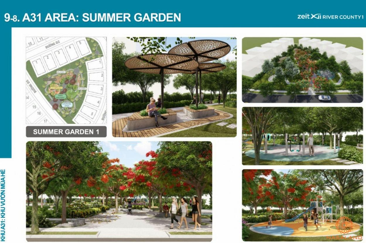 thiết kế công viên zeitgeist