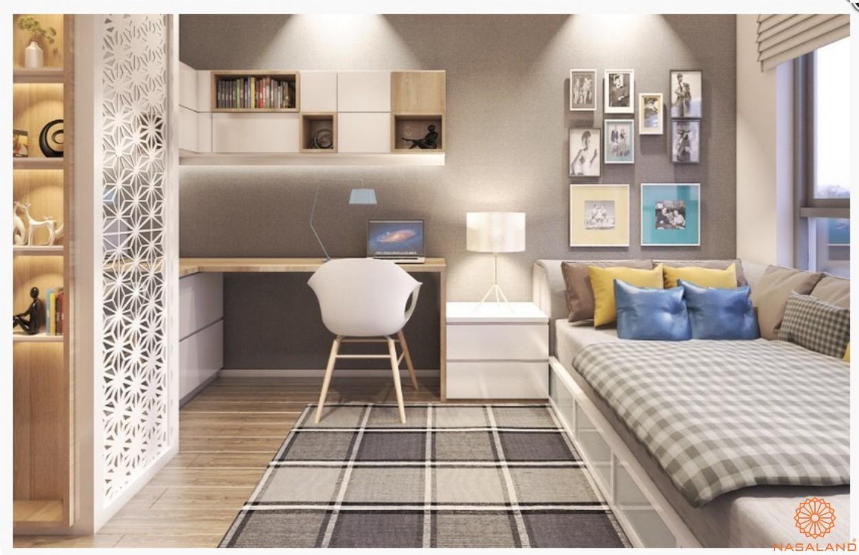 Thiết kế căn hộ chung cư Central Premium phòng ngủ