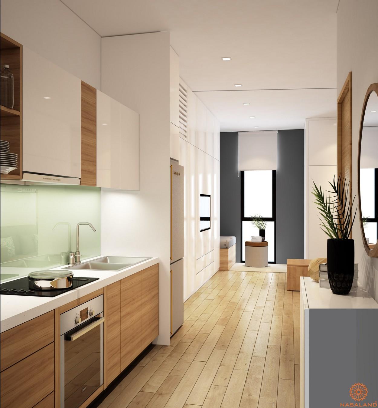 Thiết kế hành lang phòng bếp tại dự án