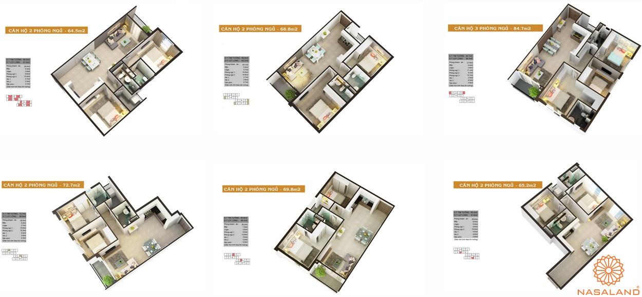 Thiết kế dự án căn hộ High Intela