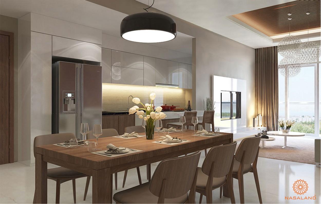 Thiết kế bàn ăn tại dự án Lux Riverview tại dự án