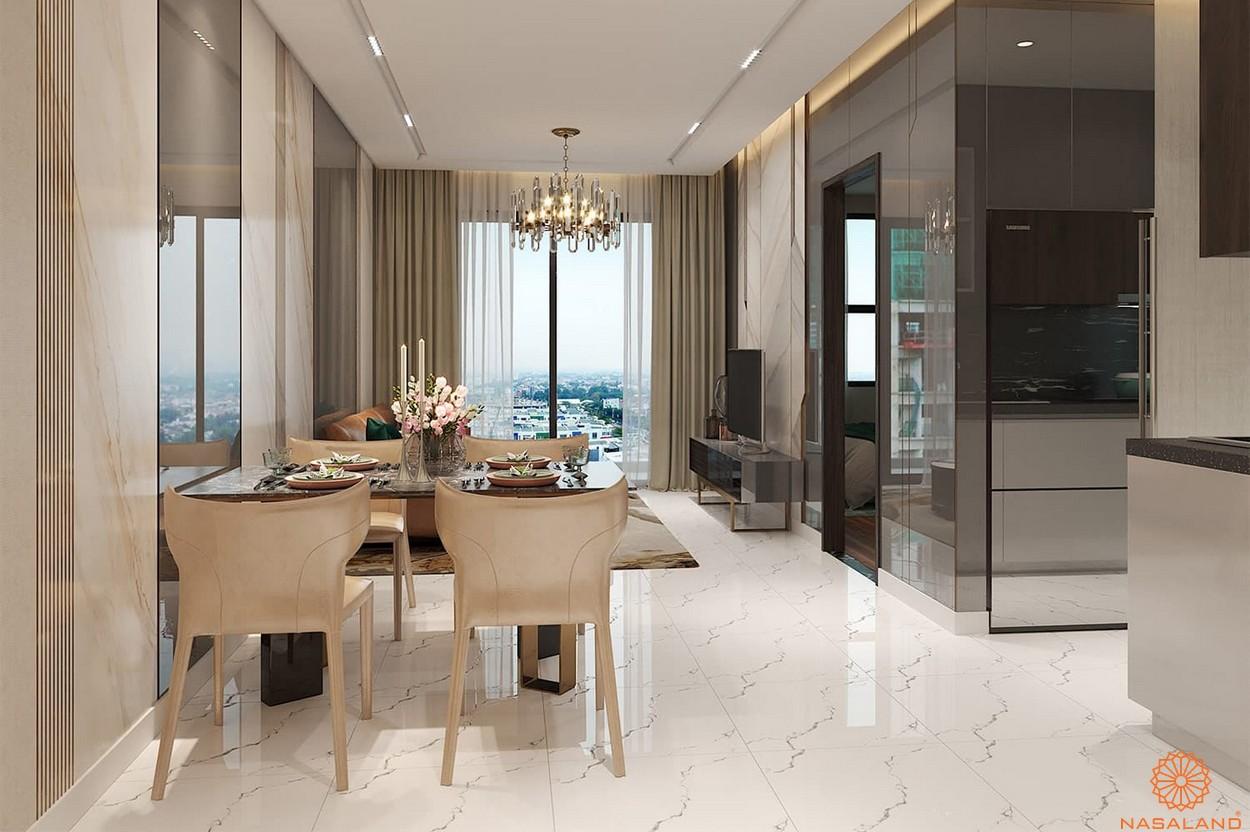 Thiết kế căn hộ dự án Opal Skyline cao cấp