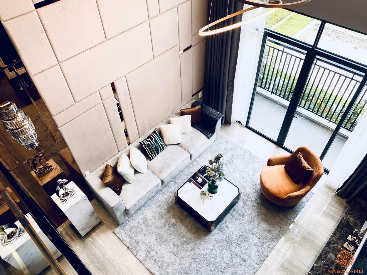 Thiết kế dự án căn hộ Phú Đông Sky Garden Bình Dương phòng khách