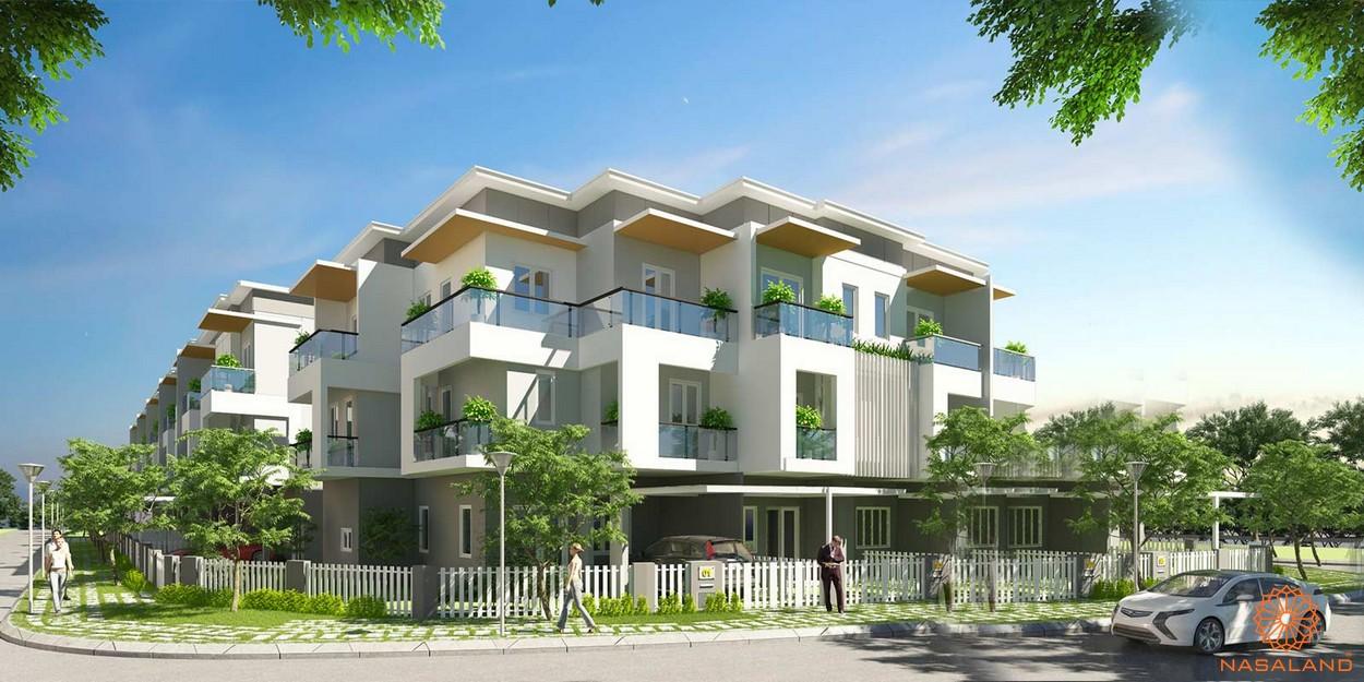 Thiết kế nhà phố Mega Village quận 9
