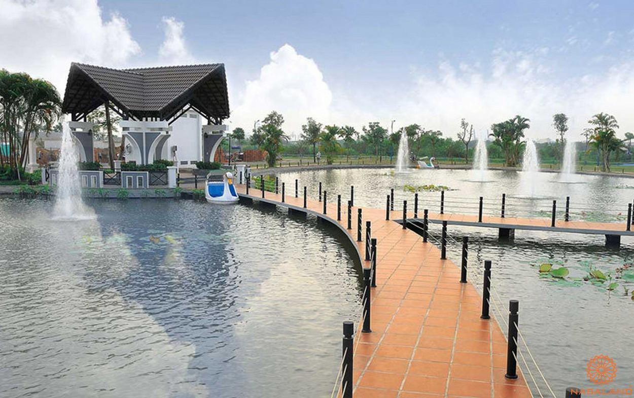 tiện ích dự án - thác nước nhân tạo Singapore