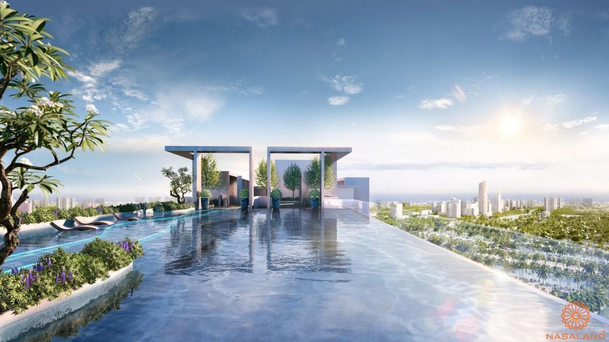 Tiện ích căn hộ Astral City bình Dương - Hồ bơi chân mây