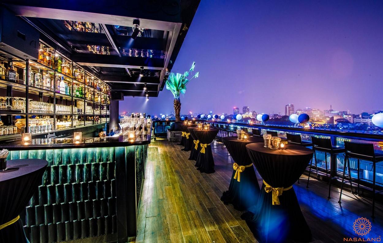 Tiện ích căn hộ Astral City bình Dương - Sky bar