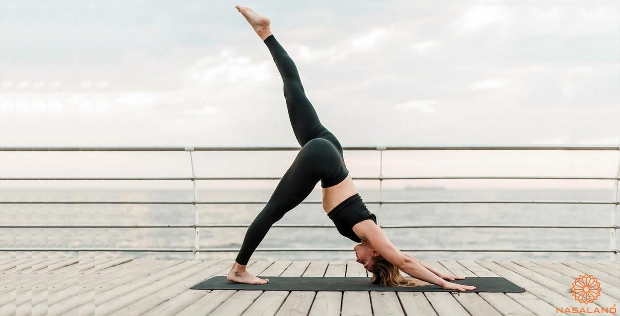 Tiện ích căn hộ Astral City bình Dương - Yoga
