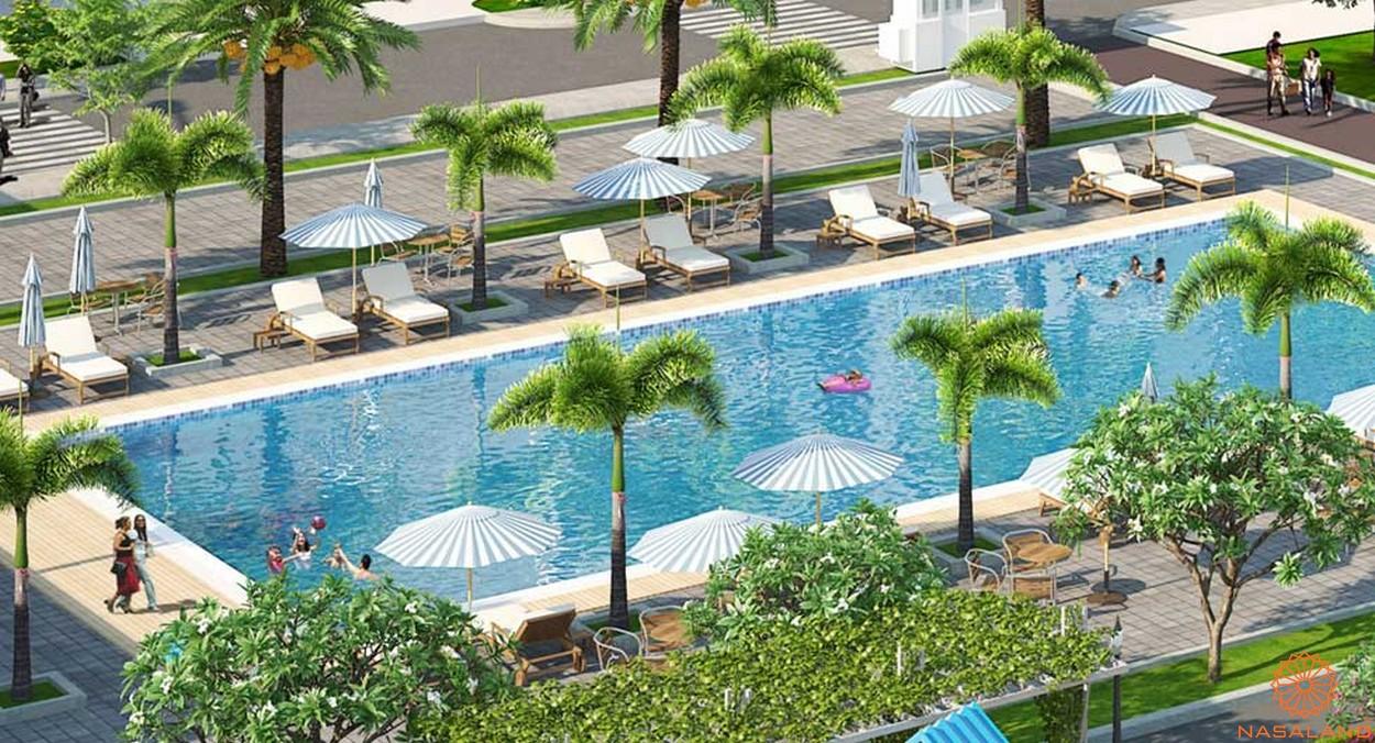 Tiện ích nội khu dự án căn hộ Florita quận 7 hồ bơi