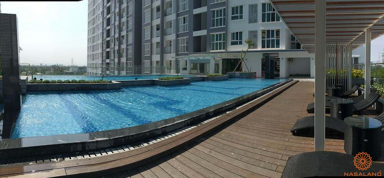 Tiện ích dự án căn hộ Hưng Phát Silver Star - hồ bơi