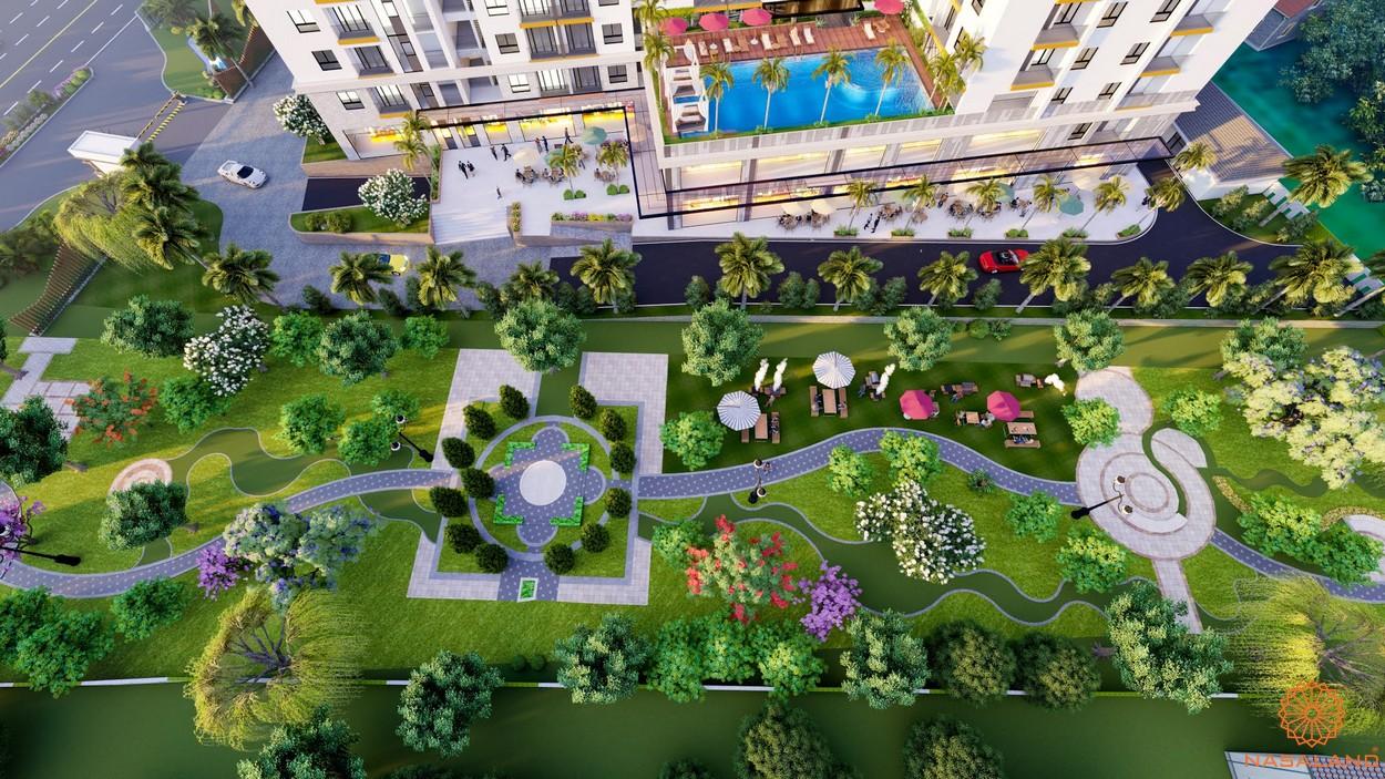 Tiện ích dự án căn hộ chung cư Minh Quốc Plaza Bình Dương - Công viên